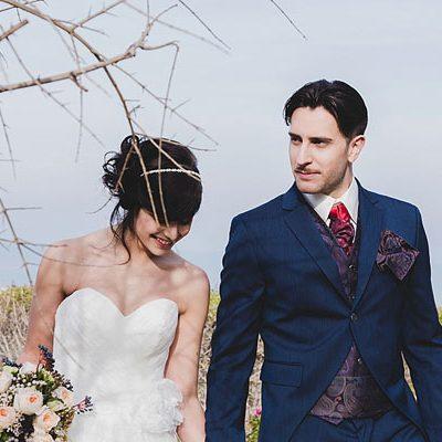 Inspiration: Blu e rosa cipria per un matrimonio in Abruzzo