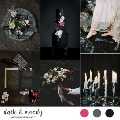 Inspiration board: Dark & Moody