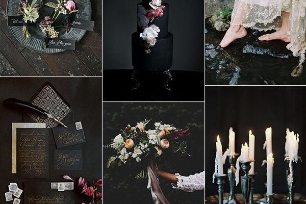 Inspiration board: Dark & Moody