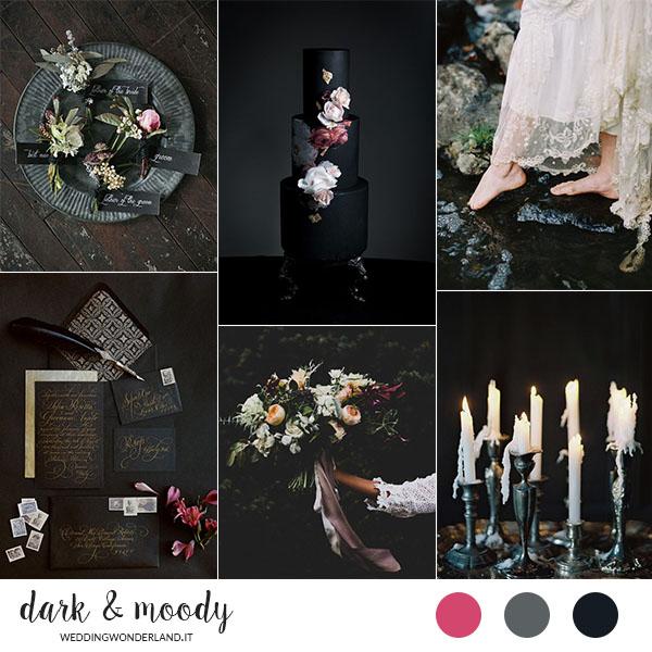 matrimonio dark e moody