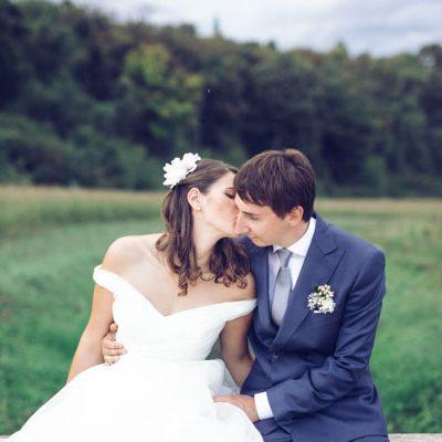 Un matrimonio retrò ispirato agli aerei