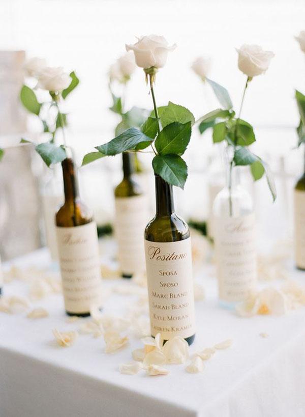 Segnaposto Matrimonio Vino.25 Idee Per Un Matrimonio Ispirato Al Vino Wedding Wonderland