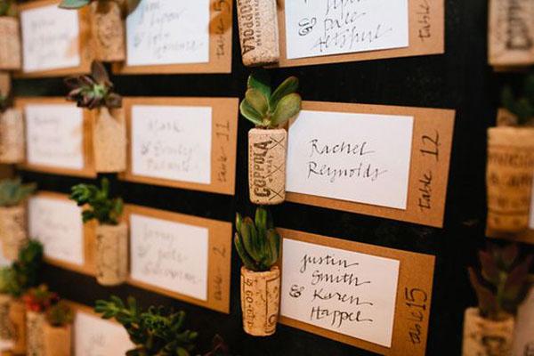 25 idee per un matrimonio ispirato al vino