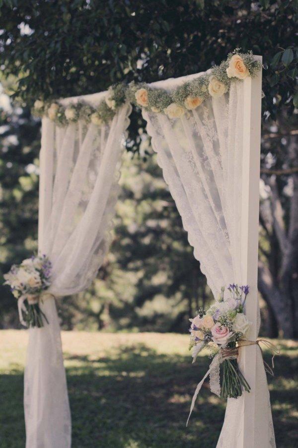 tende ikea decorazione matrimonio