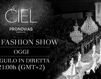 La sfilata Pronovias in diretta su Wedding Wonderland