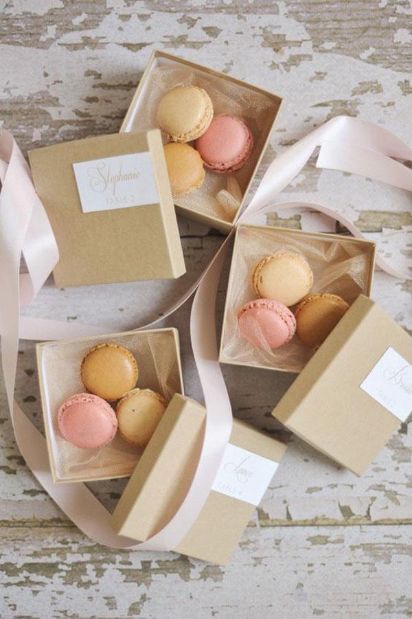 macarons   15 idee per bomboniere enogastronomiche