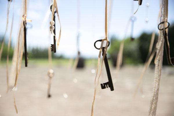 matrimonio a tema libri e chiavi antiche-23