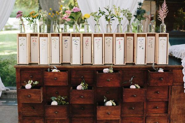 30 idee per un tableau de mariage perfetto