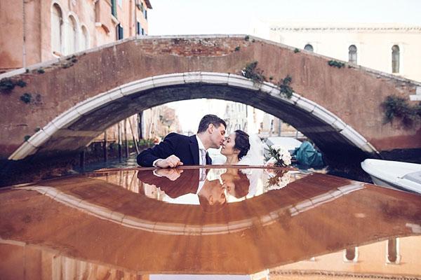 Un matrimonio invernale a Venezia