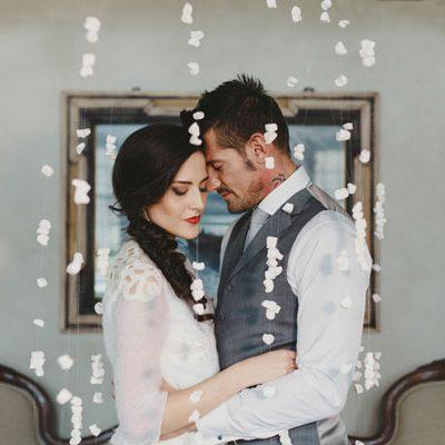 Inspiration: Un matrimonio invernale e botanico