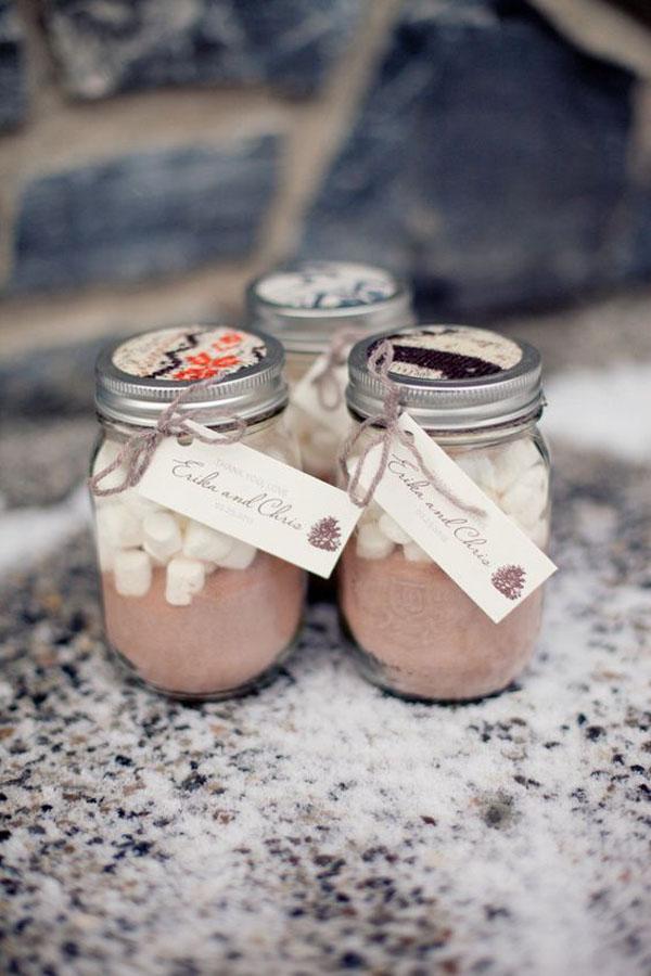 preparato per cioccolata calda | 15 idee per bomboniere enogastronomiche