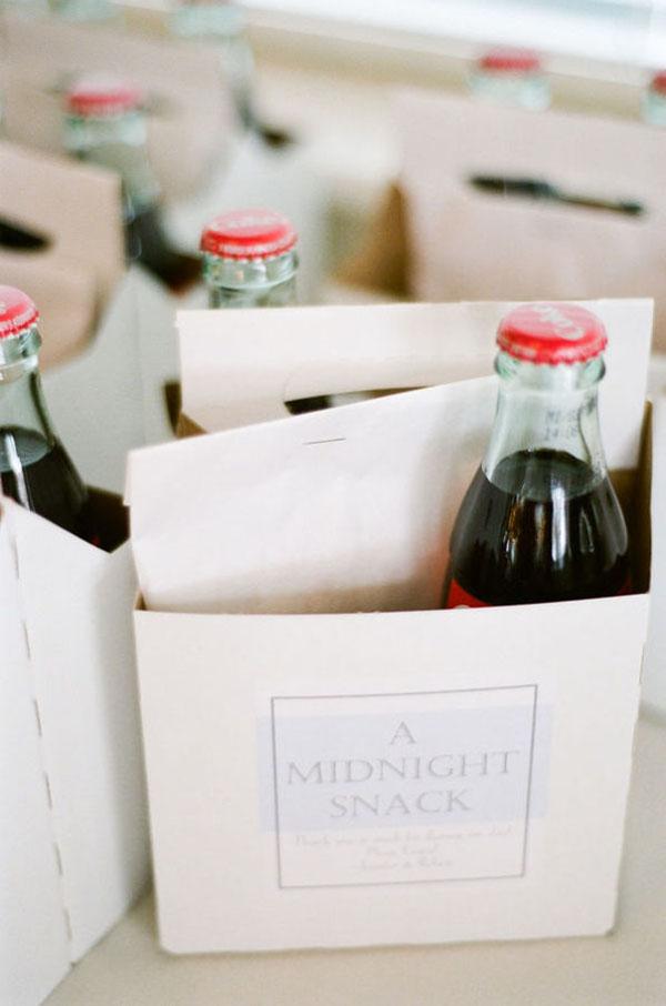 spuntino di mezzanotte | 15 idee per bomboniere enogastronomiche