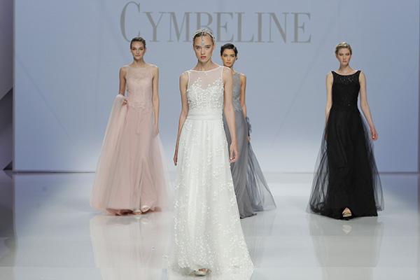 Abiti Cymbeline alla Barcelona Bridal Week