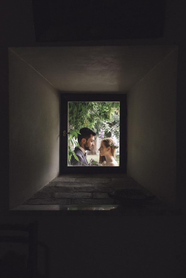 matrimonio ispirato ai glicini
