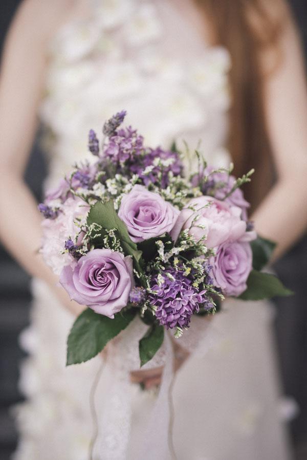 Bouquet Sposa Glicine.Un Matrimonio Vintage E Botanico Al Profumo Di Glicine