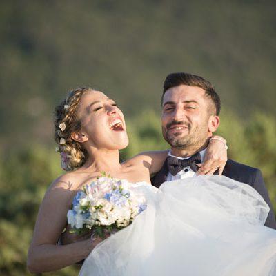 Un matrimonio romantico tra le colline umbre