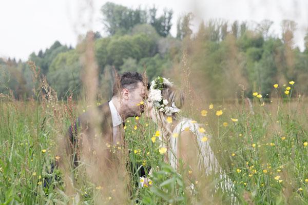 matrimonio geometrico botanico