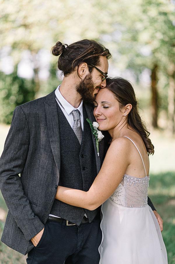 sposo con man bun
