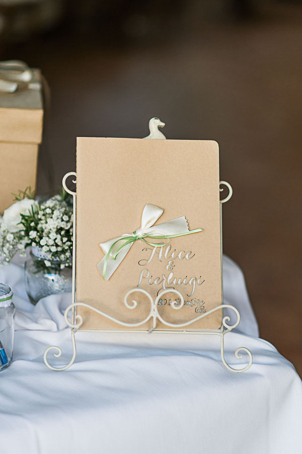 guestbook in carta kraft