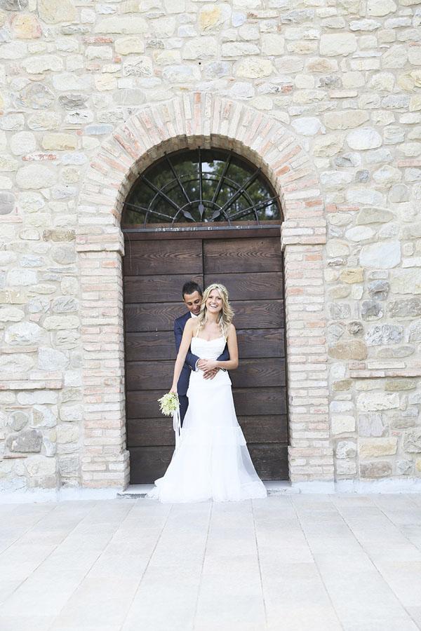 matrimonio rustico in giallo
