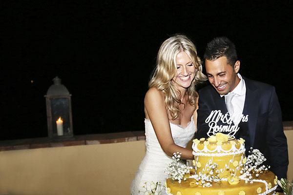 torta con cake topper personalizzato