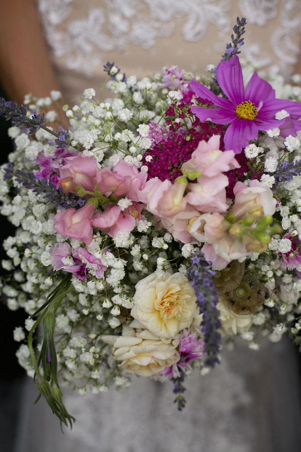 bouquet viola e rosa