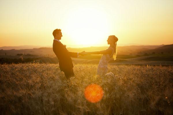 matrimonio intimo a pienza