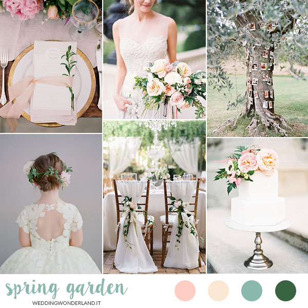 matrimonio primaverile in giardino | wedding wonderland