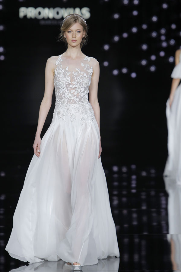 pronovias atelier 2017 - barcelona bridal fashion week