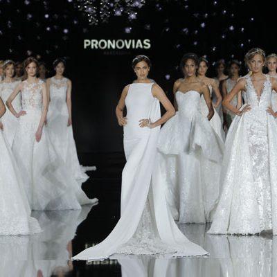Barcelona Bridal Week: Pronovias collezione sposa 2017