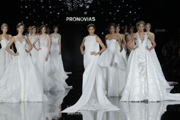 pronovias atelier 2017 - barcelona bridal fashion week