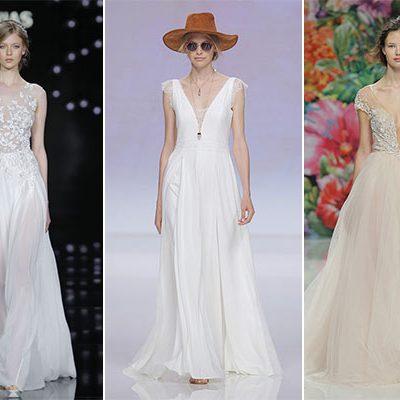 Abiti da sposa: i trend per il 2017 dalla Barcelona Bridal Week