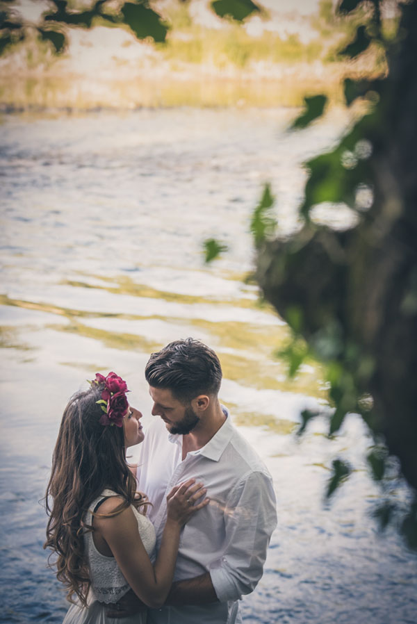 engagement session sul fiume brenta