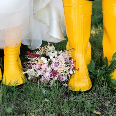 Un matrimonio autunnale e handmade