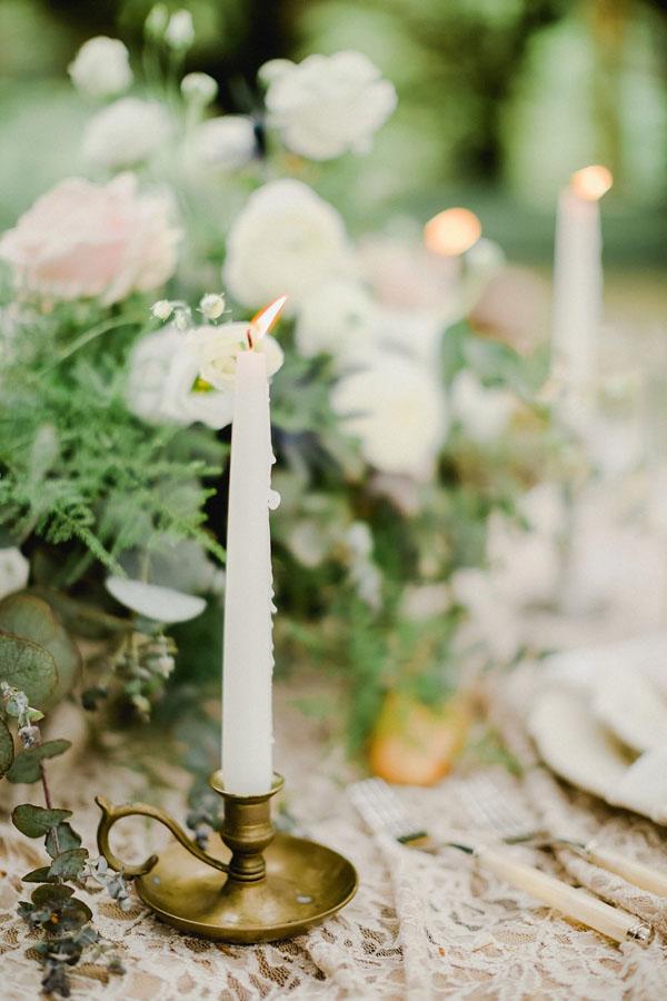 candele e candelieri vintage