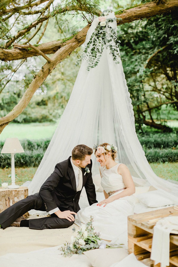 Matrimonio Bohemien Wedding : Un matrimonio da sogno in giardino wedding wonderland