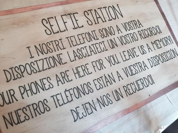 angolo selfie matrimonio