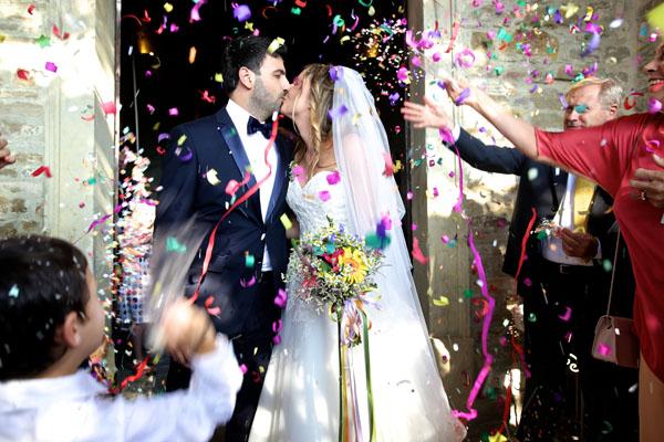 matrimonio country chic colorato
