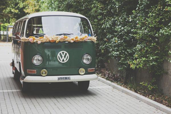 furgone volkswagen matrimonio