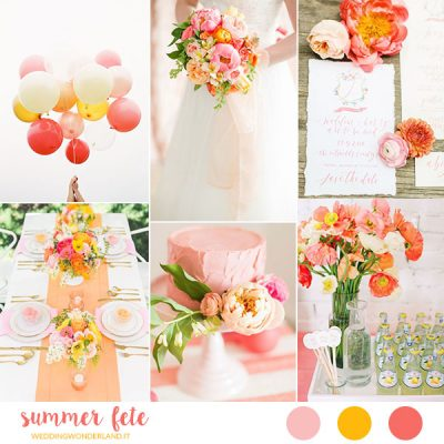 Inspiration board: Summer Fête