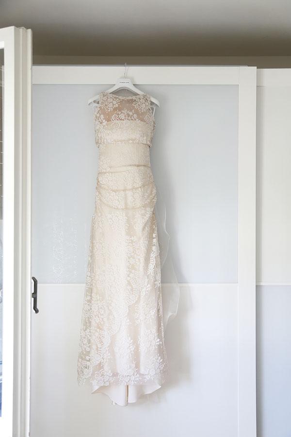 abito da sposa in pizzo le spose di giò