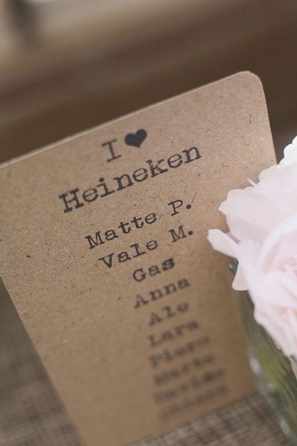 tableau de mariage in carta kraft