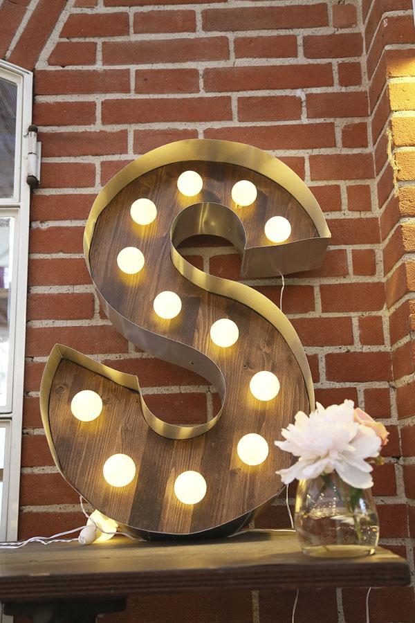 lettere luminose fai da te