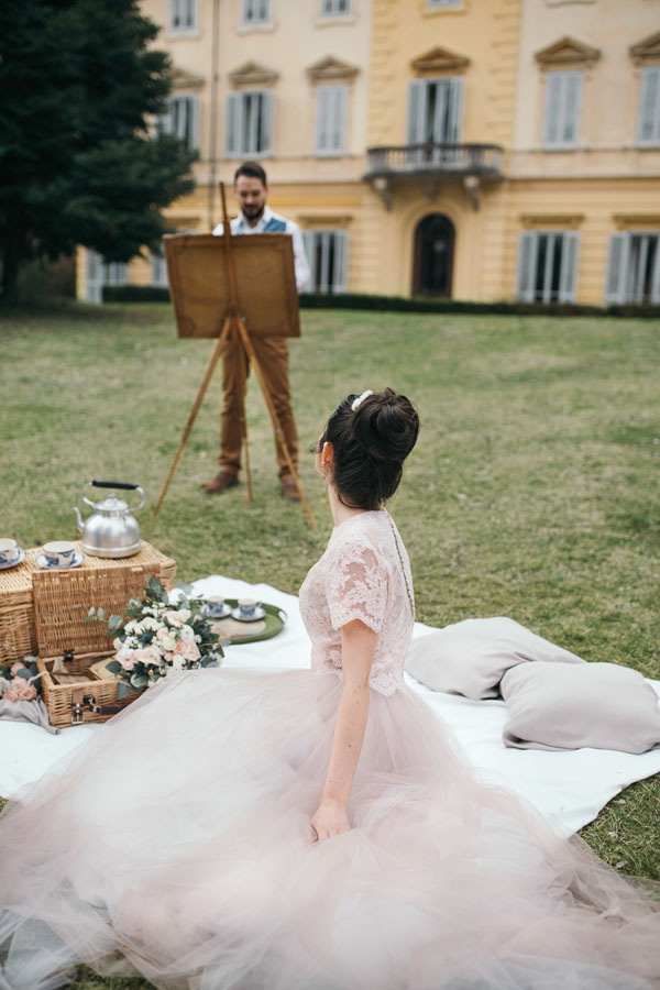 angolo picnic matrimonio
