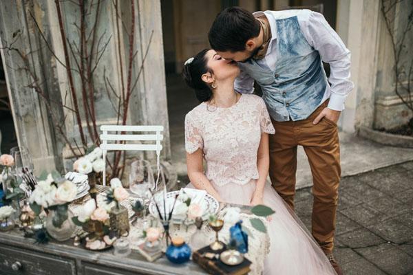 Un matrimonio ispirato a Monet e agli Impressionisti