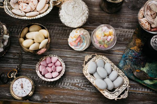 sweet table bohemien