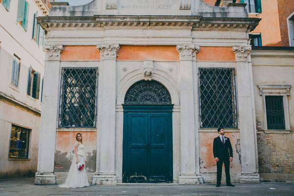Un matrimonio romantico a Venezia