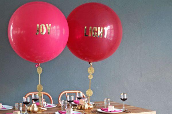 10 idee fai da te con i palloncini