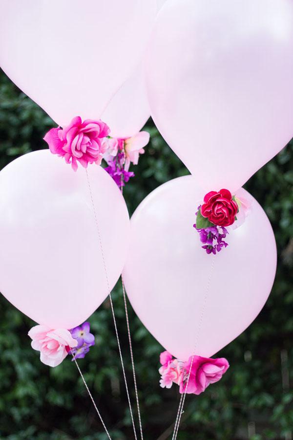 palloncini floreali fai da te