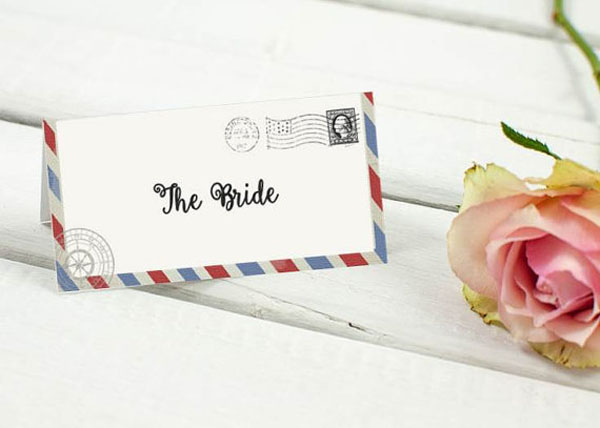 Segnaposto Matrimonio Tema Ulivo : Idee handmade per un matrimonio a tema viaggi wedding